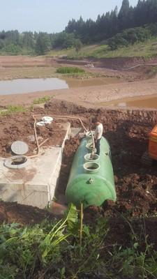 内江项目   传统村落;10?/d处理量、出水水质;城镇污水处理污染物排放标准(GB18918-2002)一级A排放标准