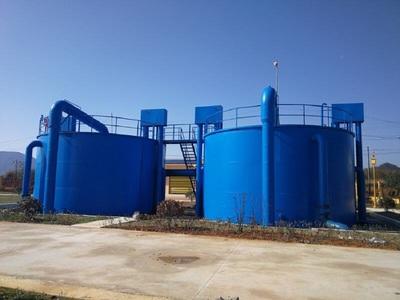 贵州某一体化净水处理项目